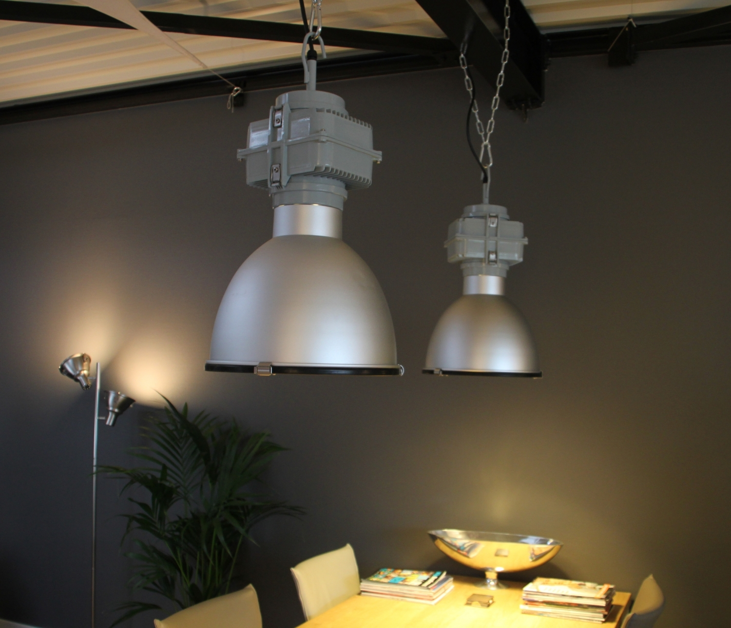Home industri le hanglamp for Lampen industrie